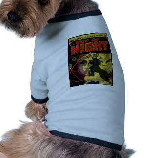 Horror Comic Out of the Night 4 Pet Tee Shirt