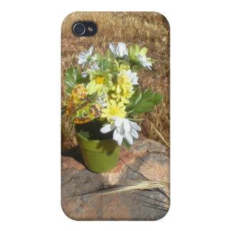 Horror Farm Flower Pot iPhone 4 Cover