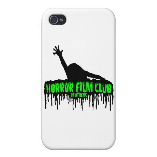 Horror Film Club of Athens iPhone 4 Covers