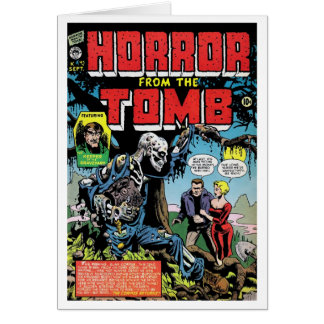 """""""Horror from the Tomb #1"""" Card"""