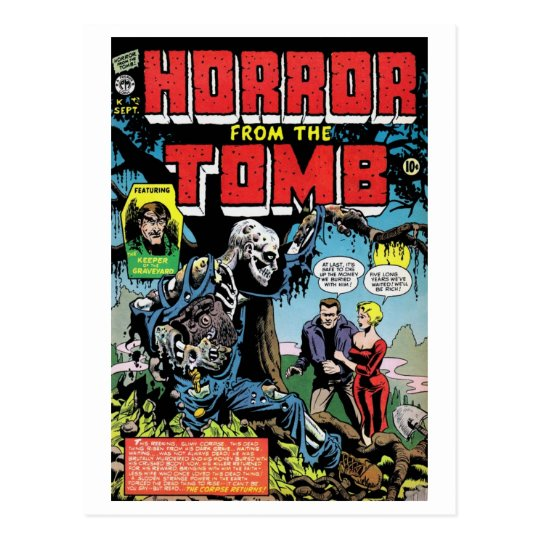 """Horror from the Tomb #1"" Postcard"