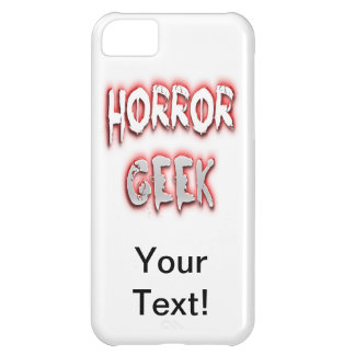 Horror Geek Red iPhone 5C Cover