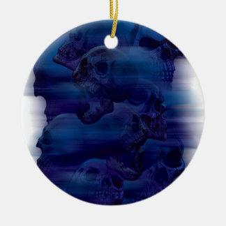 Horror Ghost Skeleton Christmas Ornament