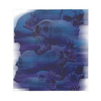 Horror Ghost Skeleton Notepad