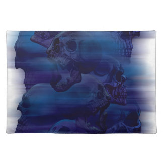 Horror Ghost Skeleton Placemat