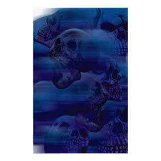 Horror Ghost Skeleton Stationery