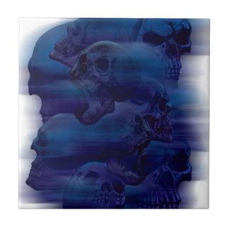 Horror Ghost Skeleton Tile