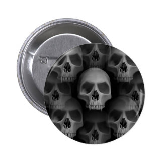 Horror Halloween skulls 6 Cm Round Badge