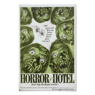 Horror Hotel or City of The Dead Movie Poster