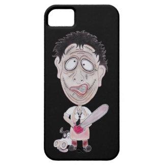 Horror Movie Butcher Funny Caricature Phone Case iPhone 5 Case