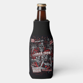 Horror movie Monsters spook show Bottle Cooler
