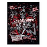 Horror movie Monsters spook show Postcard