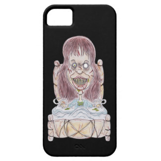 Horror Movie Possessed Caricature Drawing Case iPhone 5 Cover