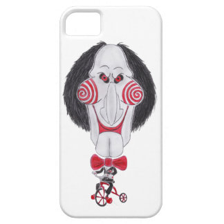 Horror Movie Puppet Caricature Drawing Phone Case iPhone 5/5S Case