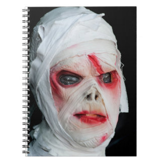 horror mummy notebooks