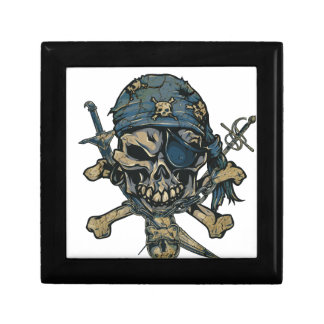 Horror Pirate Skull Gift Box