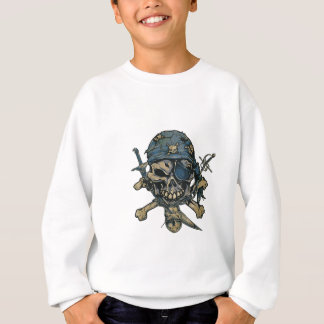 Horror Pirate Skull Sweatshirt