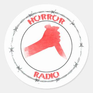 HORROR RADIO Sticker Sheet