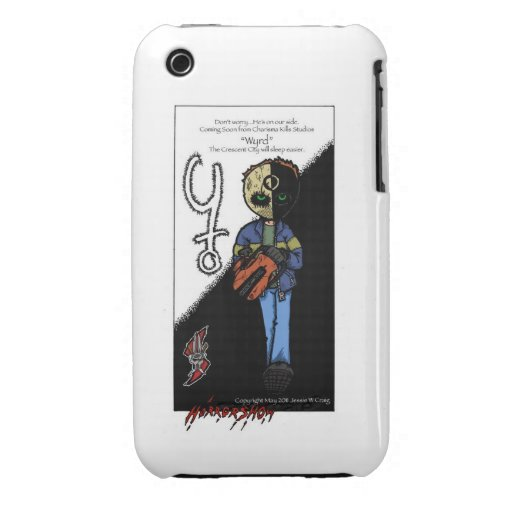 Horror Show, wyrd iPhone 3 Cover