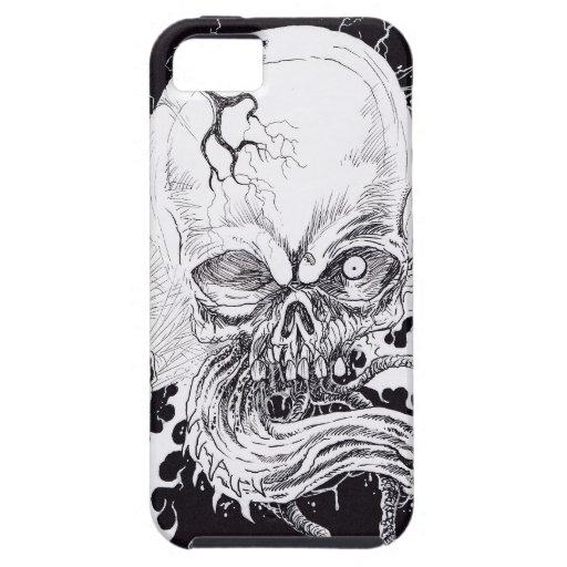 Horror Skull iPhone 5/5S Cases
