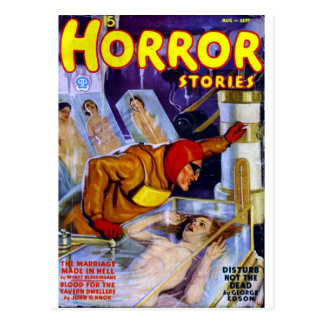 Horror Stories Postcards