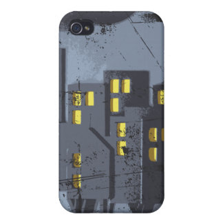 Horror storm grunge home iphone case iPhone 4 case