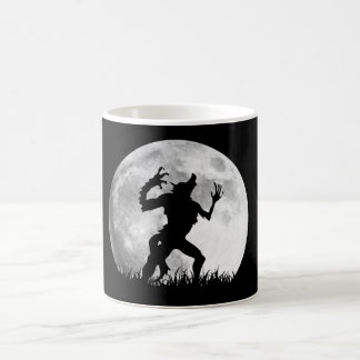 Horror Werewolf Full Moon Transformation - Cool Coffee Mug