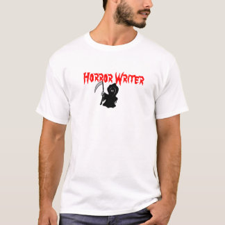 Horror Writer Grim Reaper T-Shirt