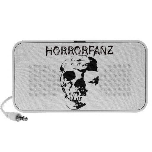 Horrorfanz Logo Travelling Speaker