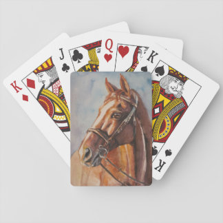 Horse 2 playing cards