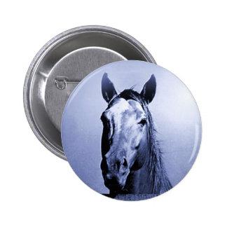 Horse 6 Cm Round Badge