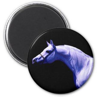 Horse 6 Cm Round Magnet