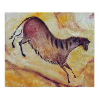 horse a la Altamira Poster