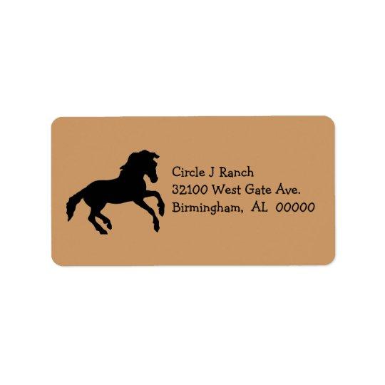 Horse Address Labels