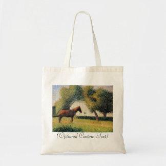 Horse and Cart Budget Tote Bag