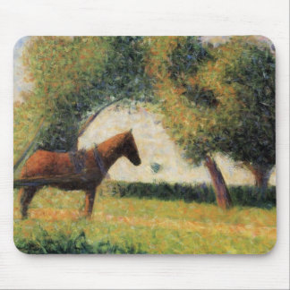 Horse and Cart Mouse Pad