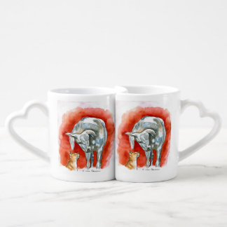 Horse and Cat Lovers Mug