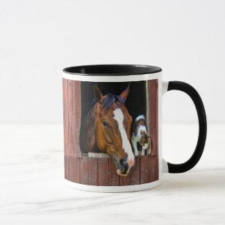 Horse and Cat Mug
