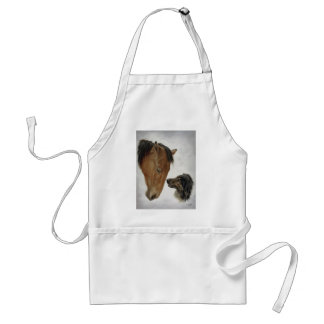 Horse and Dog Apron