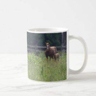 Horse and Foal Mug