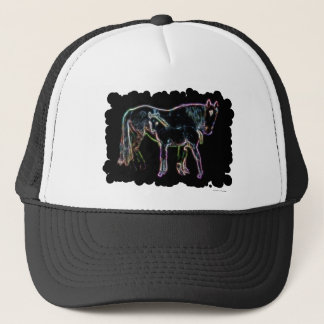 Horse and Foal Trucker Hat