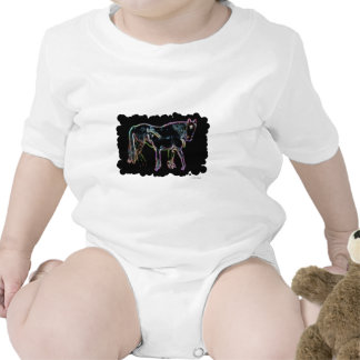 Horse and Foal Baby Bodysuits