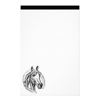 Horse and Horseshoe Stationary Stationery