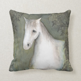 Horse and Ivy Cushion