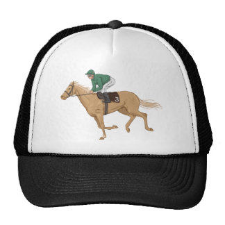 Horse and Jockey Hat