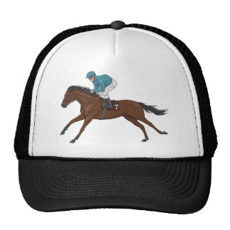 Horse and Jockey Mesh Hat