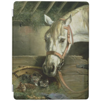 Horse and kittens, 1890 iPad cover
