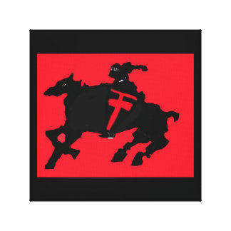 Horse And Knight Canvas Prints