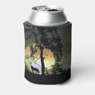 Horse and Moon Cozy Cup Can Cooler