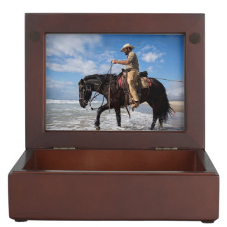 Horse And Rider Keepsake Box
